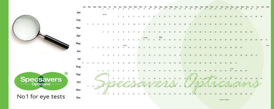 Specsavers Calendar Design Awards