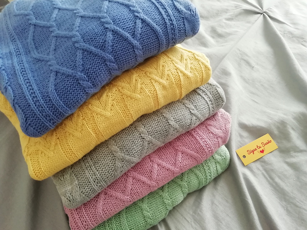 Sweater diferentes colores de la temporada