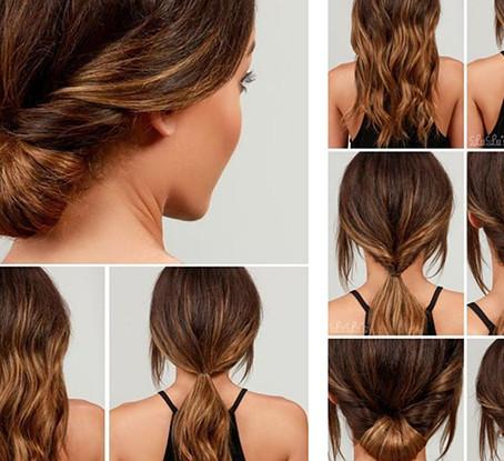 3 ideas de peinados rapidos