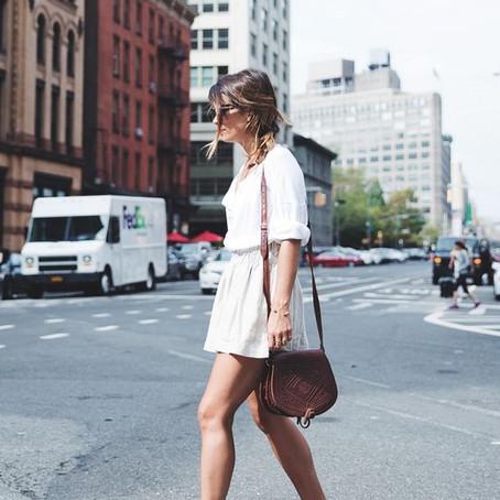 10 looks para usar shorts de lino