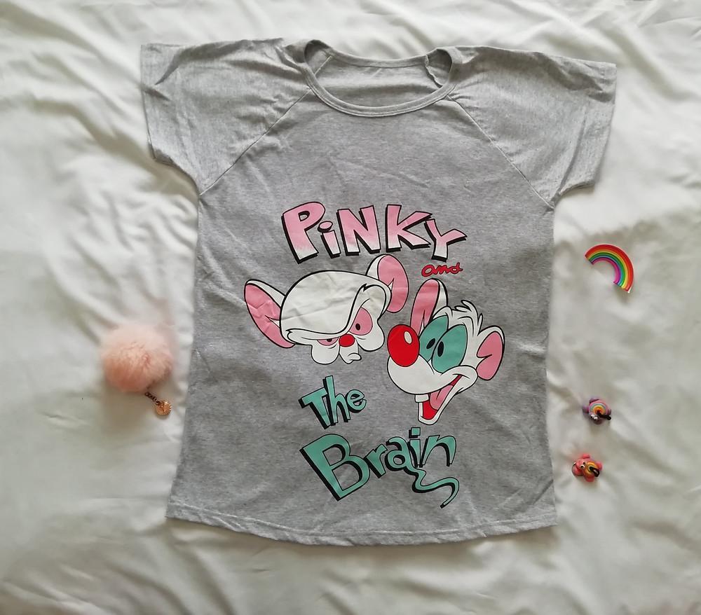 Remeron de mujer Pinky y cerebro