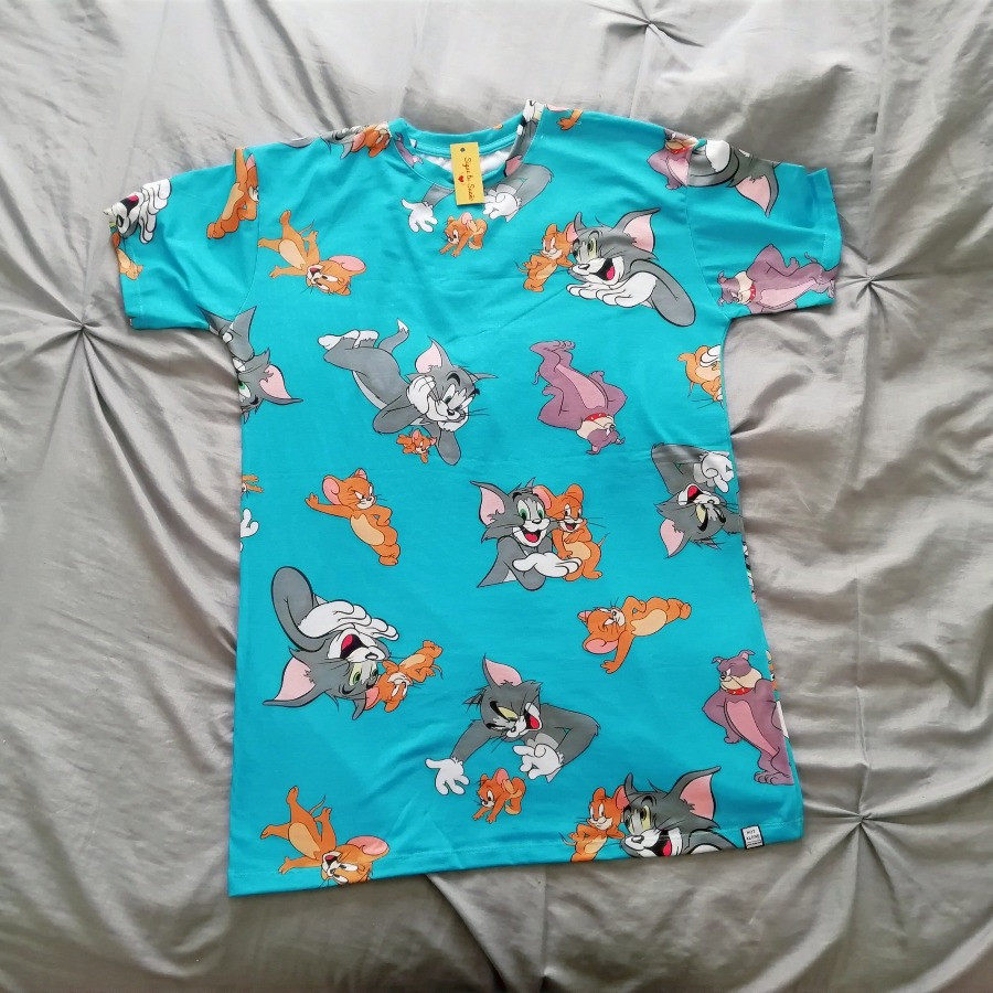 Remeron tom y jerry | remerones de mujer largos | outfit con remerones