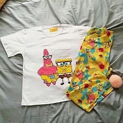 Pijama de mujer bob esponja