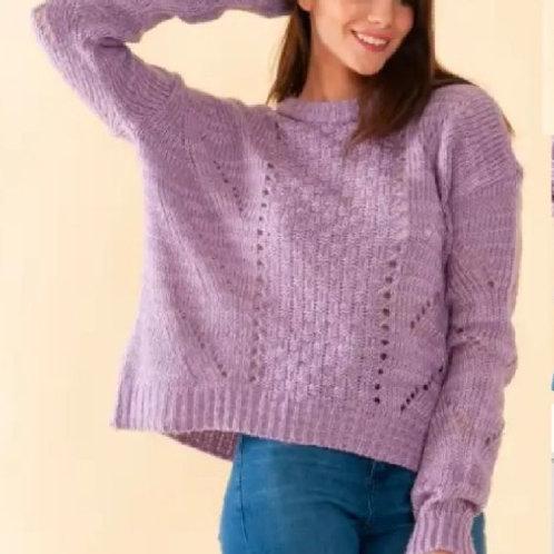 Sweater New York frisado