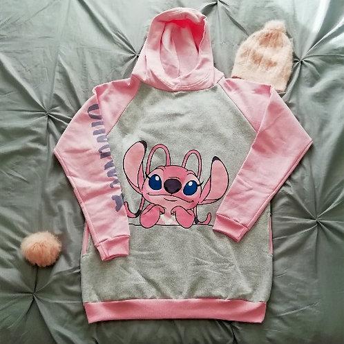Buzo niños stitch pinky