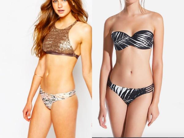 Bikinis para mujeres con poco busto