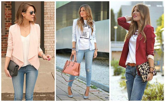 Looks casuales de viernes con jean