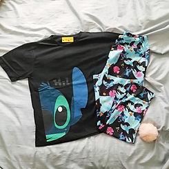 Pijama de mujer stitch