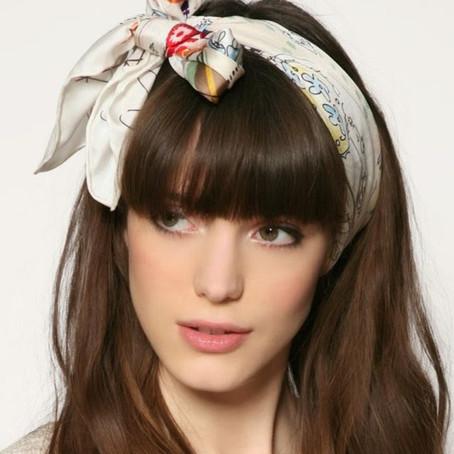 10 peinados con pañuelos que vas a amar