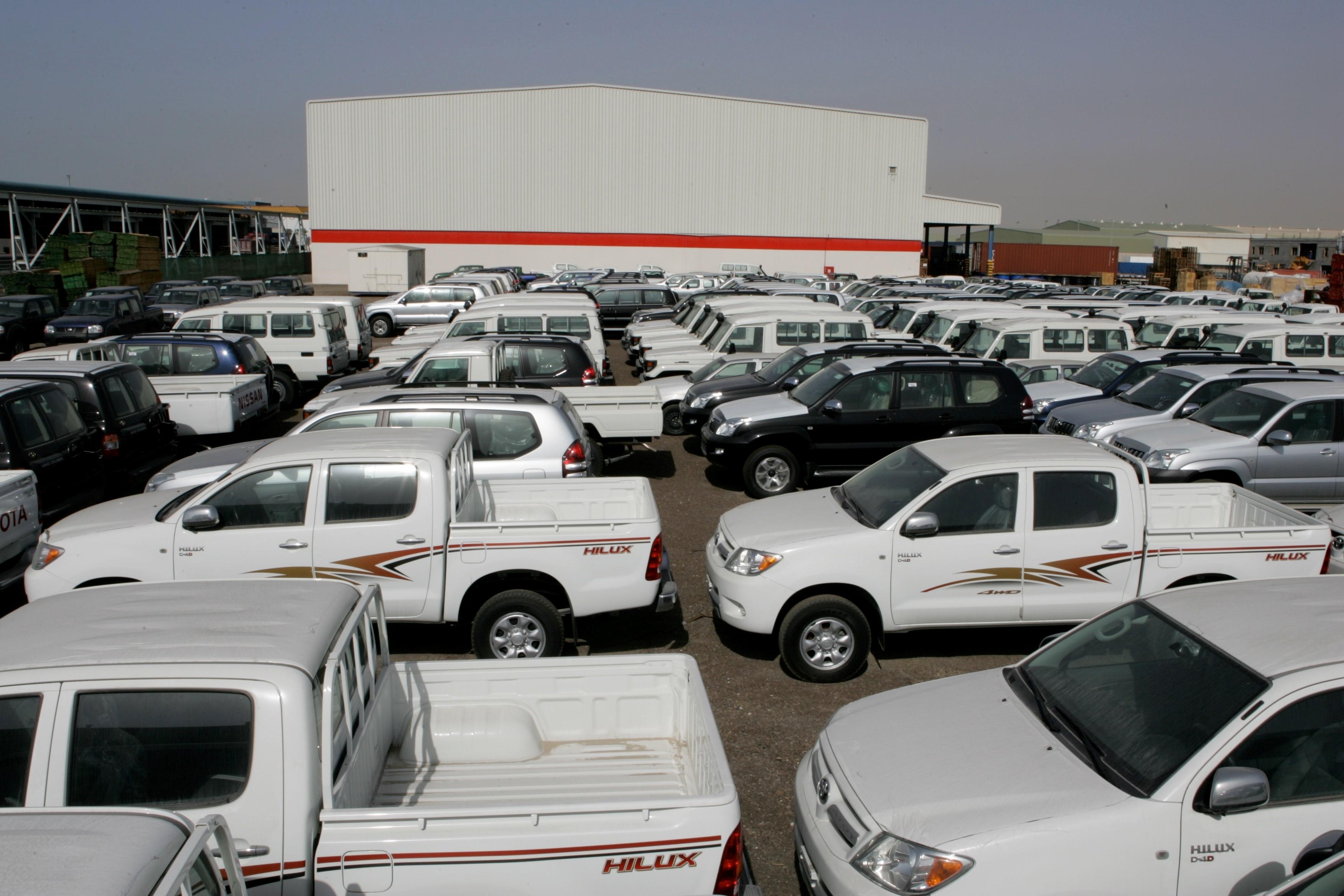 Toyota Stock Dubai