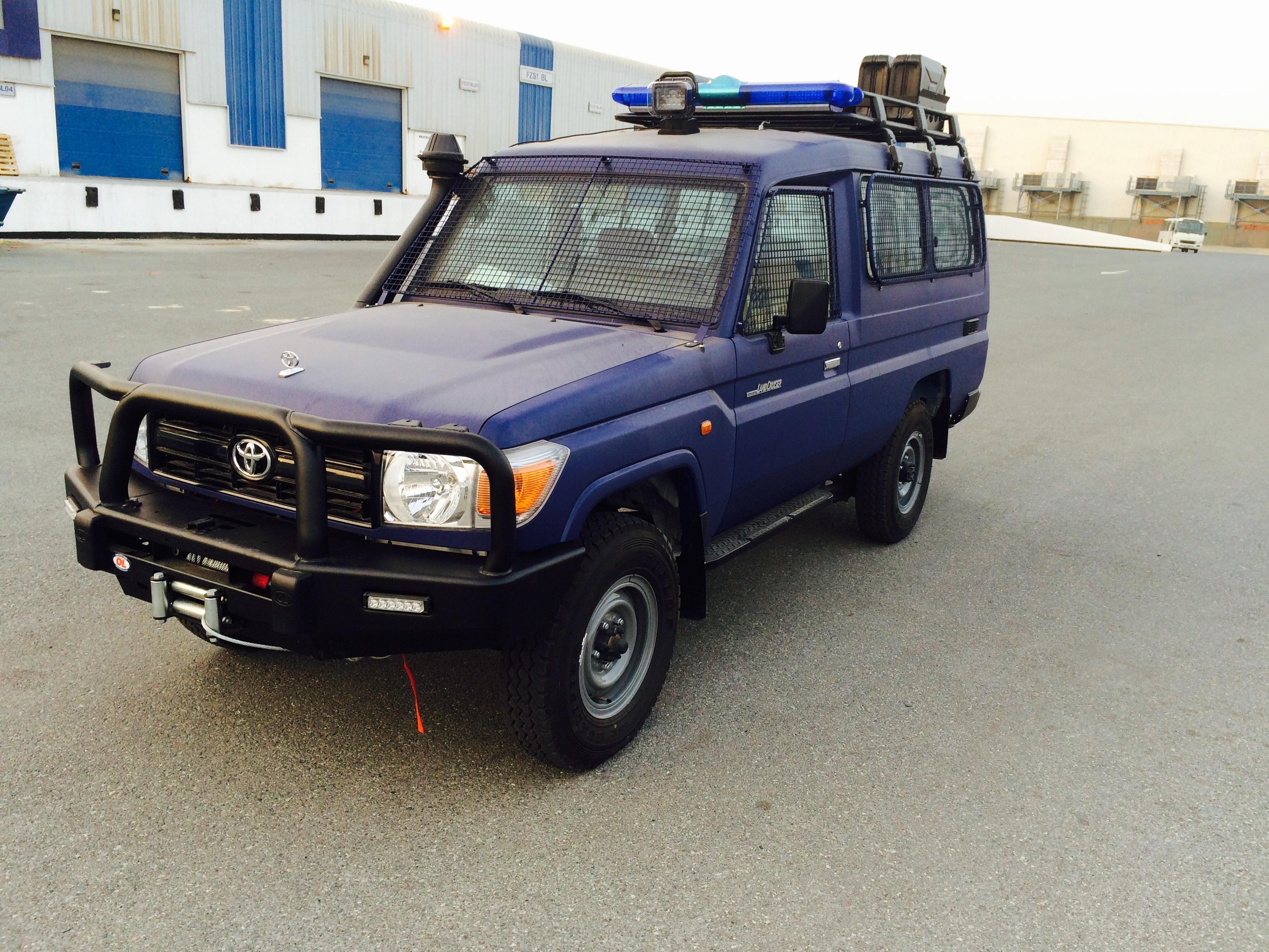 HZJ78 Police Africa
