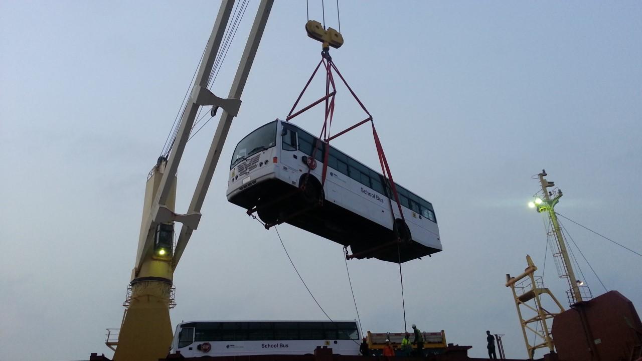 Handling buses