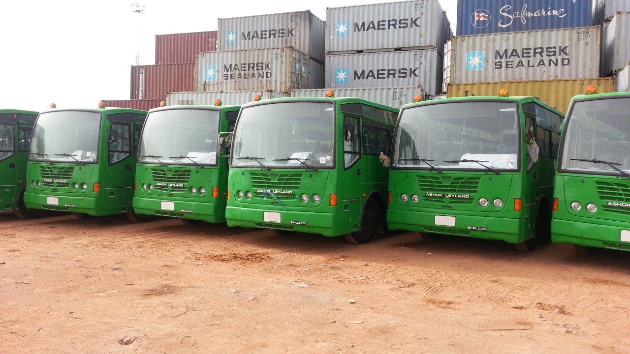 Bus fleet Africa