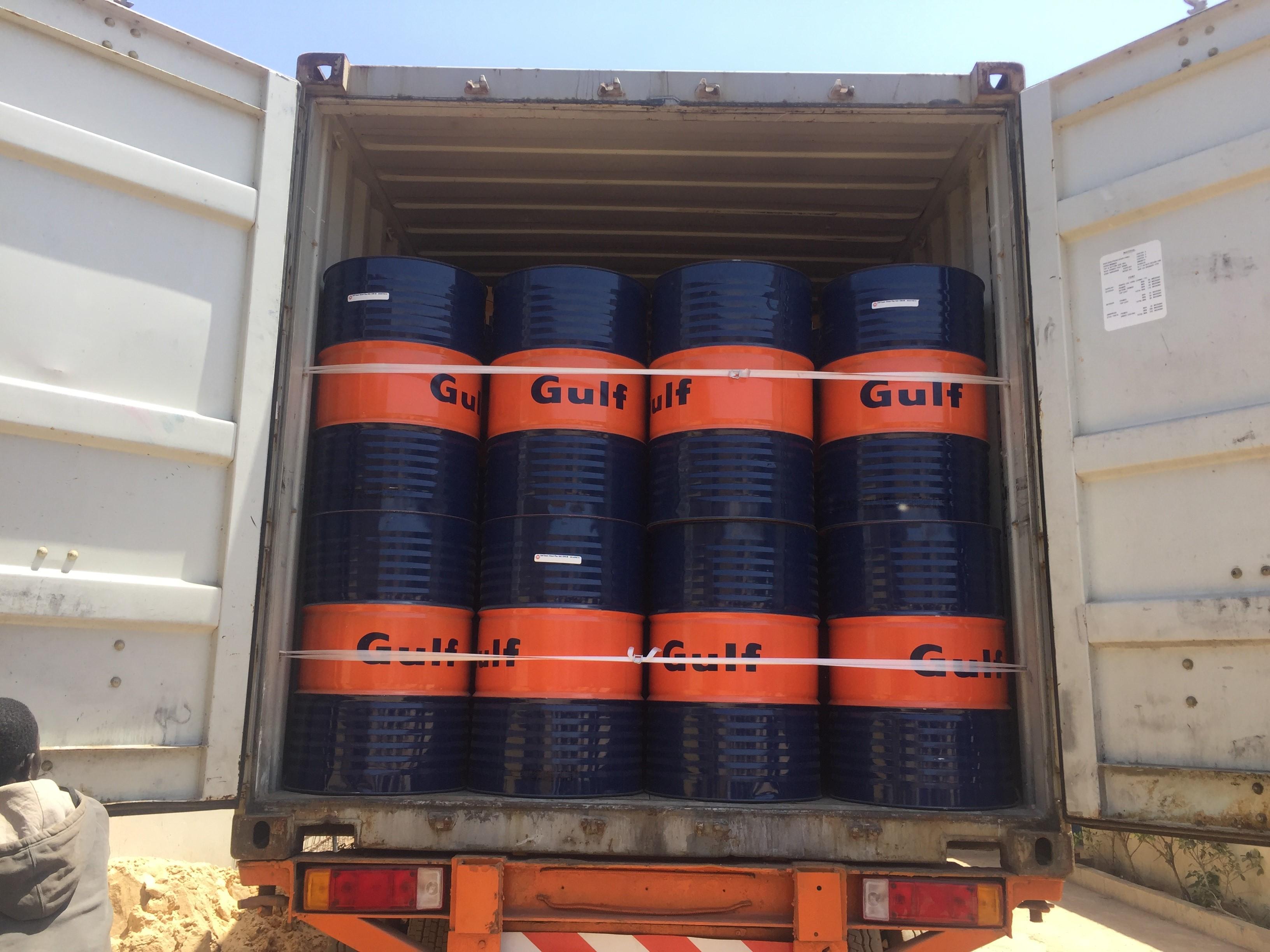 Gulf Oil Lubricants