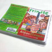 #11 (Frindle), mixed material on paper (acrylic, pencil, color pencil, pen), 30cm x 22cm x 3cm, 2018