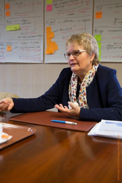 Sylvie Vandendriessche, présidente