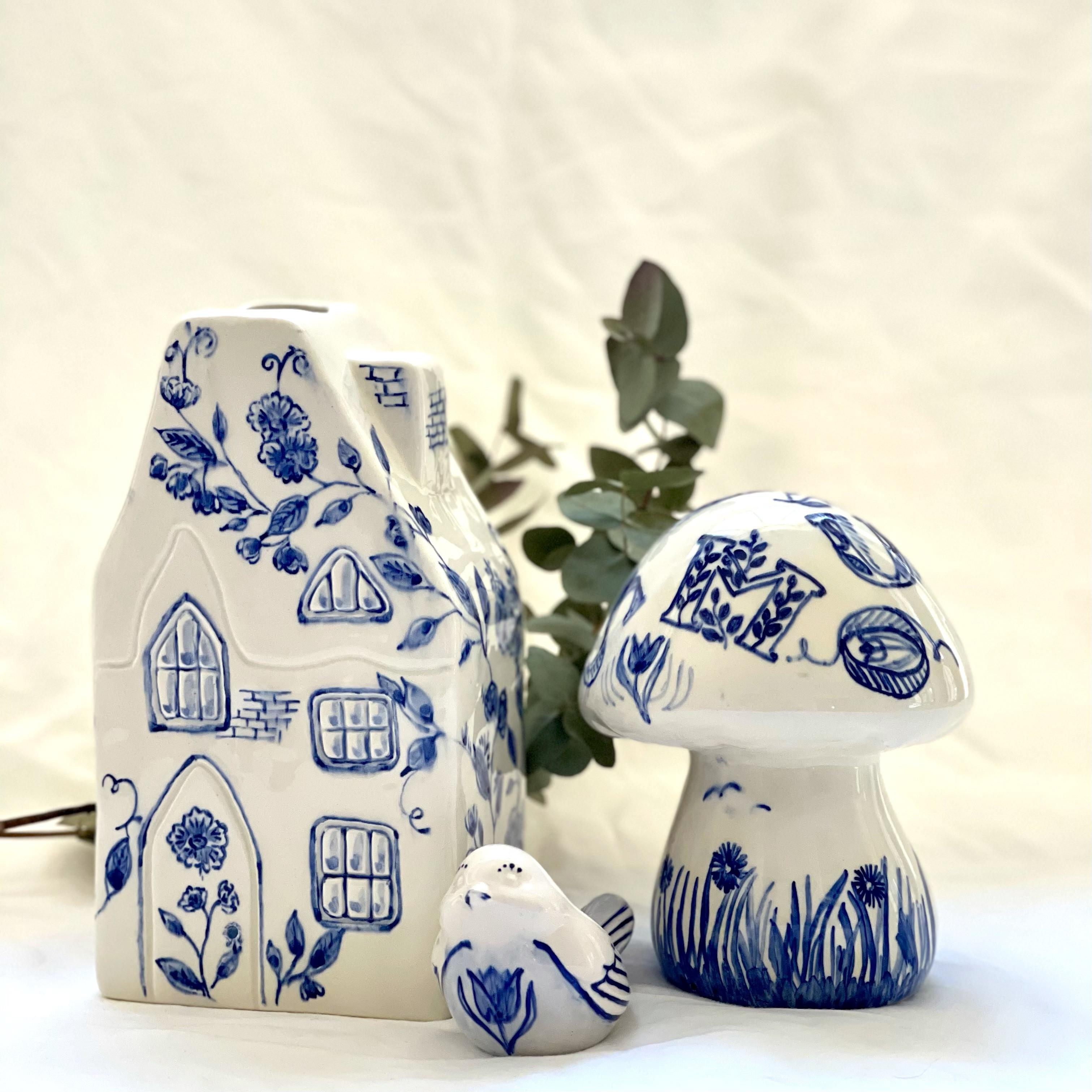 Workshop Paint Your Delft Blue Planter