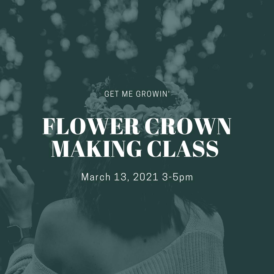 Hawaiian Flower Crown Making Class