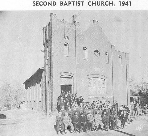 Second Baptist Church 1941.JPG