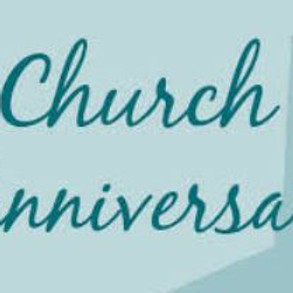 Church Anniversary & Fellowship Dinner
