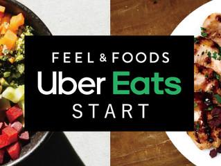 「FEEL&FOODS」がUber Eatsを導入<br> 六本木・表参道・赤坂エリアでデリバリー販売を開始
