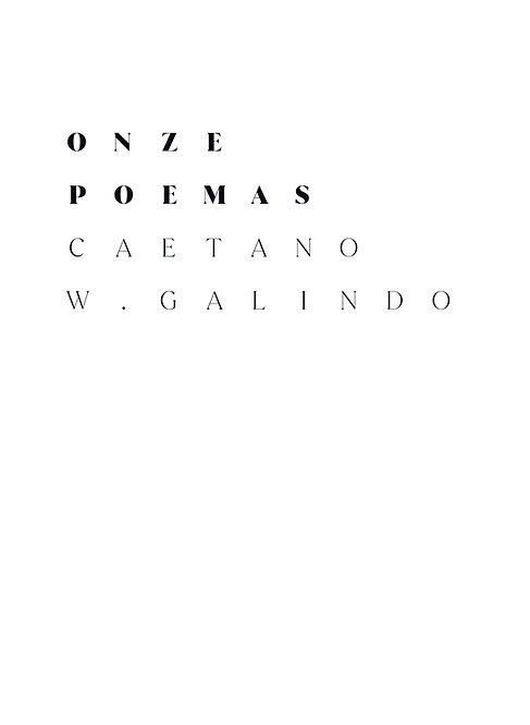 Onze Poemas