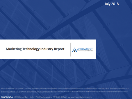 Marketing Technology Industry Report