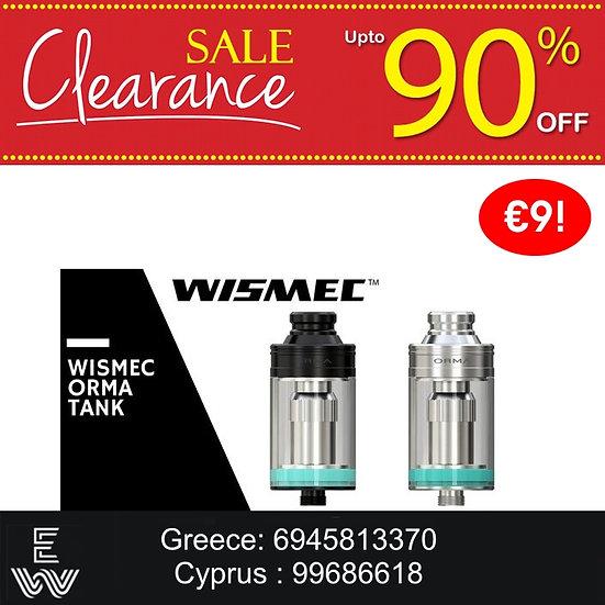WISMEC ORMA 3.5 ml Atomizer Tank ατμοποιητής