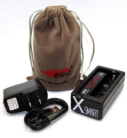 Efest XSmart USB Charger φορτιστής μπαταριών για Ηλεκτρονικά Τσιγάρα