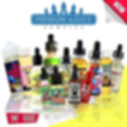 Ew Sample Vape Box - Premium E-Juices, eliquids. A box of e-liquid flavors from the best brands: Halo, Cosmic Fog, Liquid State, Lost Fog, Beard Vape Co, e.t.c