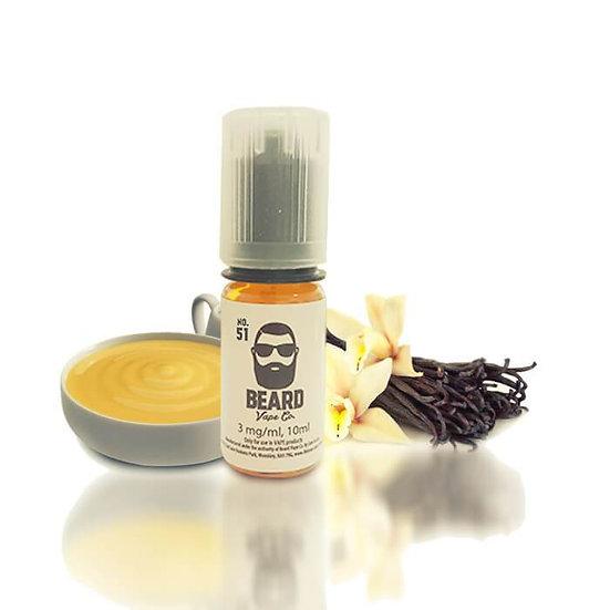 Beard N51 60 ml Vape Juice - Υγρά αναπλήρωσης