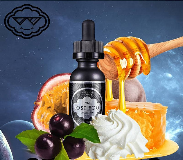 LOST FOG Baie Creme 60 ml Vape E-Liquids - Υγρά αναπλήρωσης
