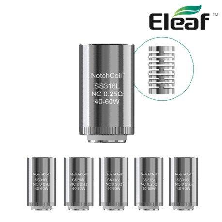 5 Eleaf Lyche NC 0.25ohm coils κεφαλές αντίστασης