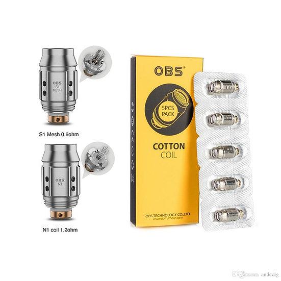 3 x OBS KFB 2 coils κεφαλές αντίστασης για OBS KFB 2 &OBS Cube MIni