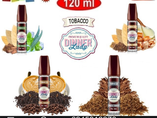 120 ml Dinner Lady Tobacco €29!