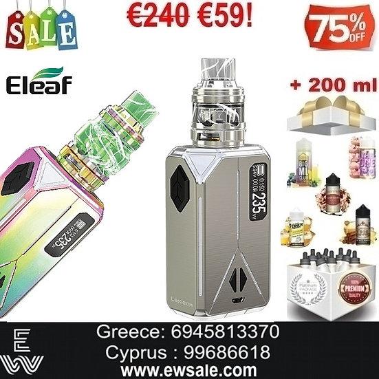 Eleaf Lexicon + ELLO DURO Ηλεκτρονικά Τσιγάρα + 200ml Υγρά άτμισης