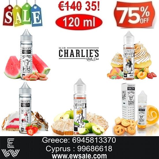 120 ml Charlie's Chalk Dust Υγρά άτμισης