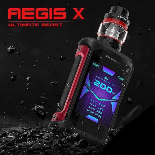 Geek Vape Aegis X kit Ηλεκτρονικά Τσιγάρα