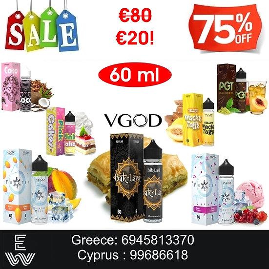 VGOD 60 ml Υγρά Αναπλήρωσης