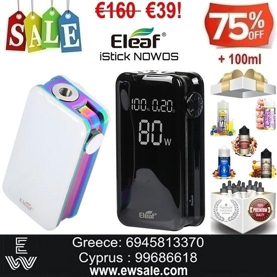 Eleaf iSitck NOMOS Mods ηλεκτρονικού τσιγάρου + 100ml Υγρά άτμισης