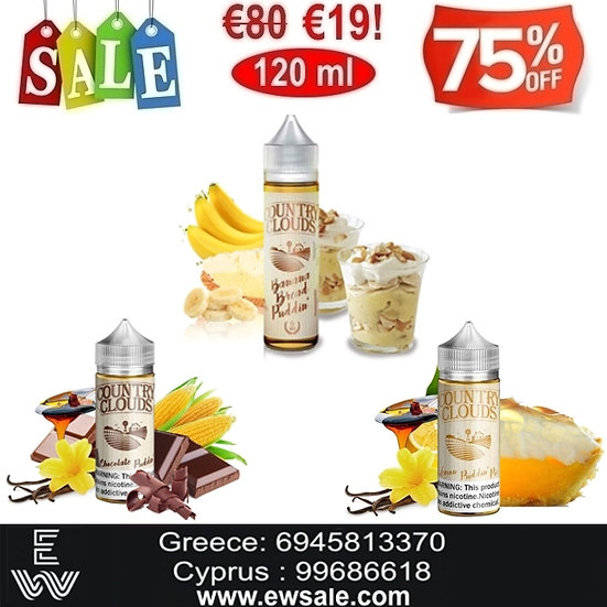 120 ml Country Clouds Υγρά αναπλήρωσης