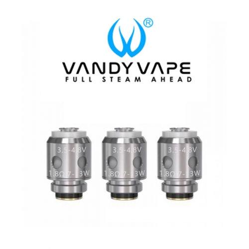 3 x VANDY VAPE Apollo / Berserker Coil Ανταλλακτικές κεφαλές (αντιστάσεις)