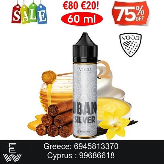 VGOD Cubano Silver 60 ml Υγρά Αναπλήρωσης
