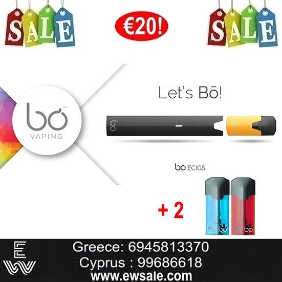BO vaping Ηλεκτρονικά Τσιγάρα + 2 κάψουλες pods