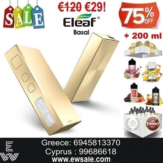 Eleaf Basal Mod ηλεκτρονικού τσιγάρου + 200ml Υγρά άτμισης