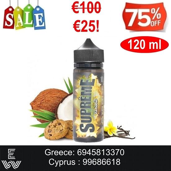120 ml Supreme E-Liquids - Υγρά αναπλήρωσης