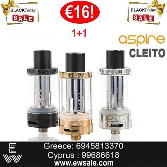 1+1 (2) ASPIRE Cleito ατμοποιητής ηλεκτρονικού τσιγάρου