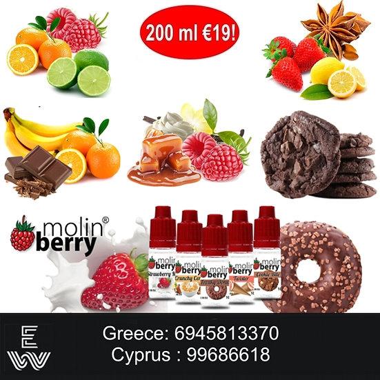 200 ml Molinberry M-line DIY Υγρά άτμισης