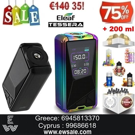Eleaf Tessera Mods ηλεκτρονικού τσιγάρου + 200ml Υγρά άτμισης