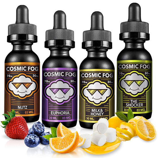 COSMIC FOG 70 ml Vape E-Juice / Υγρά αναπλήρωσης